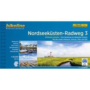 Nordseekusten Radweg 3 Bikeline Fietsgids