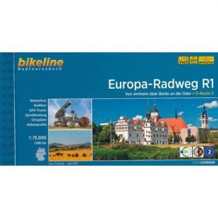 A - Europa Radweg R1 Bikeline Fietsgids