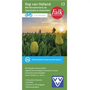 Fietskaart 13 Kop van Holland (2019)