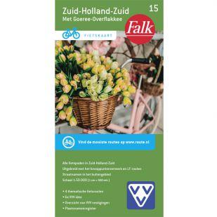 Fietskaart 15 Zuid-Holland-Zuid (druk 2020)