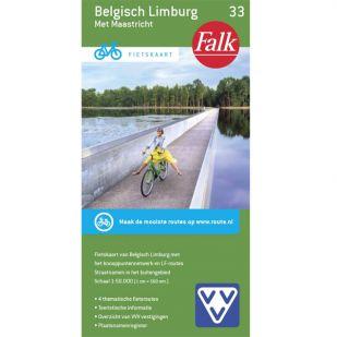 Fietskaart 33 Belgisch Limburg (2018)