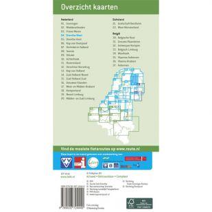 Fietskaart 4 Drenthe-West (2021)