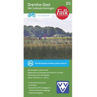 Fietskaart 5 Drenthe