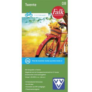 Fietskaart 8 Twente (2020)