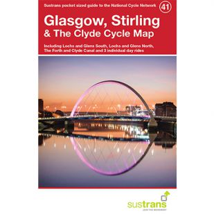 41. Glasgow, Stirling & The Clyde Cycle Map