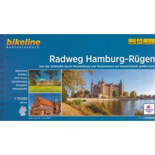 Radweg Hamburg-Rugen Bikeline Fietsgids (2021)