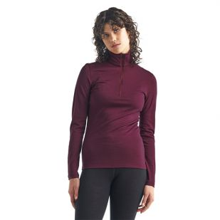 Icebreaker Women 200 Oasis Long Sleeve Half Zip