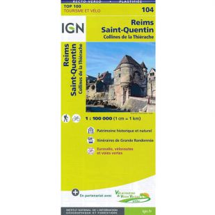 IGN 104 Reims/St-Quentin