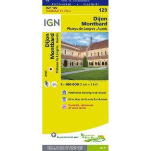 IGN 129 Dijon/Montbard