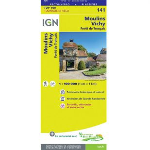 IGN 141 Moulins/Vichy