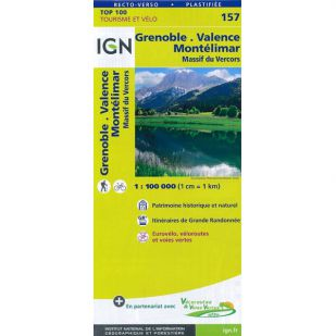 IGN 157 Grenoble/Montelimar