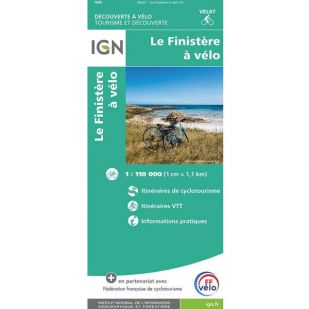 IGN Le Finistère à vélo (VEL07)