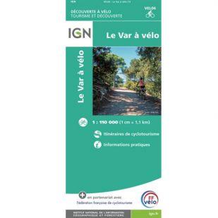 IGN Le Var à vélo (VEL06)