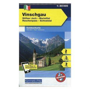 KF1 Val Venosta - Outdoorkaart