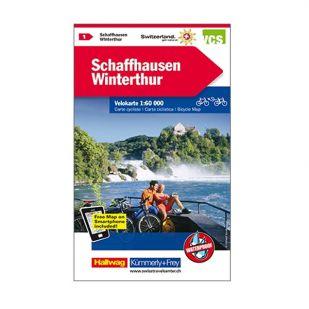 Schaffhausen/Winterthur/Wutauchtal Velokarte 1