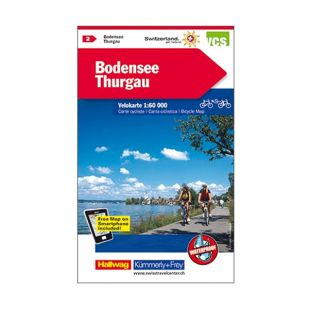 Bodensee/Thurgau Velokarte 2