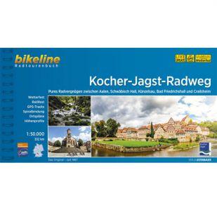 Kocher Jagst Radweg Bikeline Fietsgids