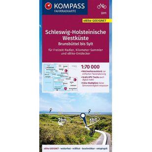 KP3311 Schleswig-Holsteinische Westkuste - Brunsbuttel bis Sylt
