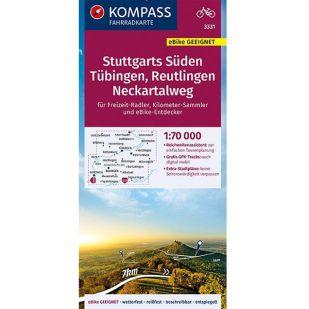 KP3331 Stuttgarts Suden - Tubingen - Reutlingen - Neckartalweg