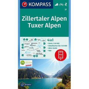 KP37 Zillertaler Alpen Tuxer Voralpen