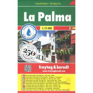 F&B La Palma Island pocket - 1:75.000