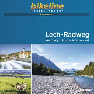 Lech-Radweg Bikeline Kompakt fietsgids (2021)