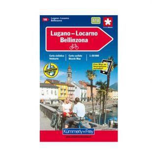 Locarno/Bellizona/Lugano/Varese Velokarte 18