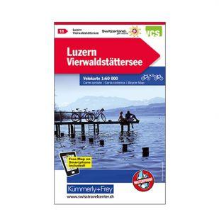 Luzern/Vierwaldstattersee Velokarte 11 !