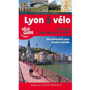 Lyon a Velo - 13 fietstochten door Lyon