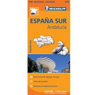 Michelin 578 Andalucia