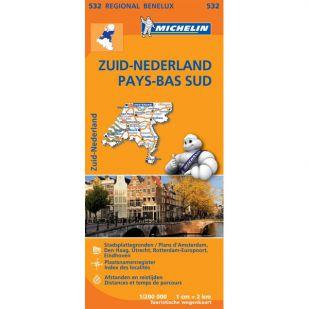Michelin 532 Nederland Zuid