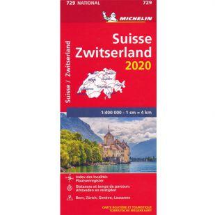 Michelin Wegenkaart 729 - Zwitserland