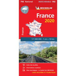 Michelin 792 - Frankrijk (onverscheurbaar)