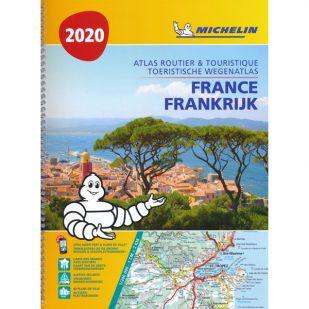 Wegenatlas Frankrijk Michelin 2020