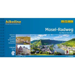 Mosel Radweg Bikeline Fietsgids (2019)