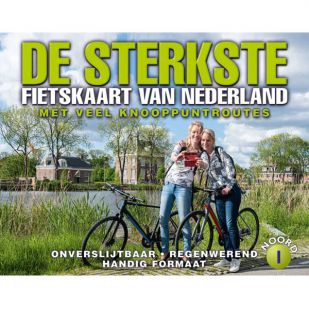 De Sterkste Fietskaart Van Nederland Noord (2020)