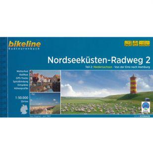 Nordseekusten Radweg 2 Bikeline Fietsgids