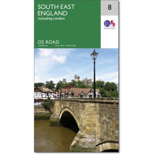OS Road Map 8: South East England