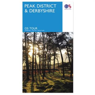 Peak District & Derbyshire OS Tour Map
