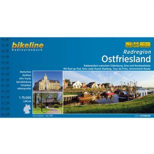 Radregion Ostfriesland  Bikeline Fietsgids
