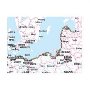 Europa-Radweg Eiserner Vorhang 2 Ostseeküsten-Radweg Bikeline Fietsgids