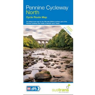 Sustrans Map Pennine Cycle Way North
