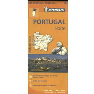 Michelin 591 Portugal Norte