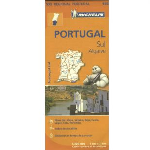 Michelin 593 Portugal Sud