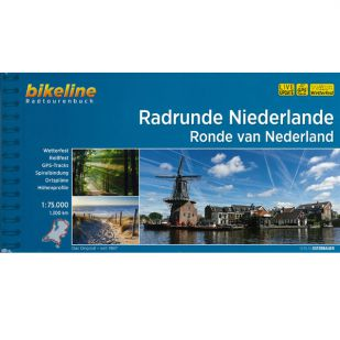 A - Radrunde Niederlande Bikeline Fietsgids 1300 km