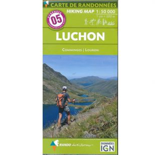 Pyrénées Carte no.5: Luchon