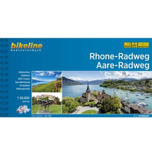 Rhone Radweg en Aare Radweg Bikeline Fietsgids !