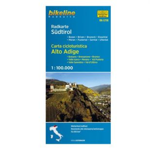 Südtirol Dolomiten Bikeline Fietskaart RK-STIR