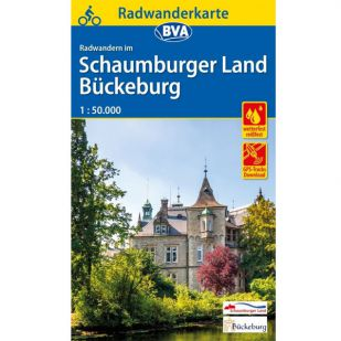 Schaumburgerland / Buckeburg Radwanderkarte