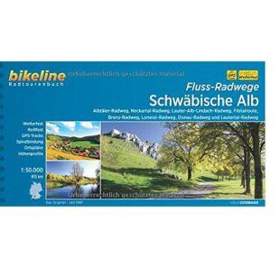 Schwabische-Alb Radweg, Flussradweg Bikeline Fietsgids !